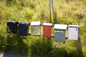 row-mailboxes