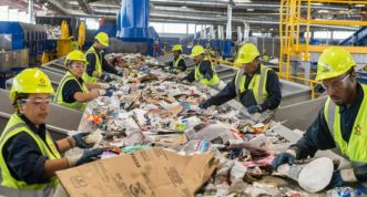 republic-lv-recycling-facility-workers